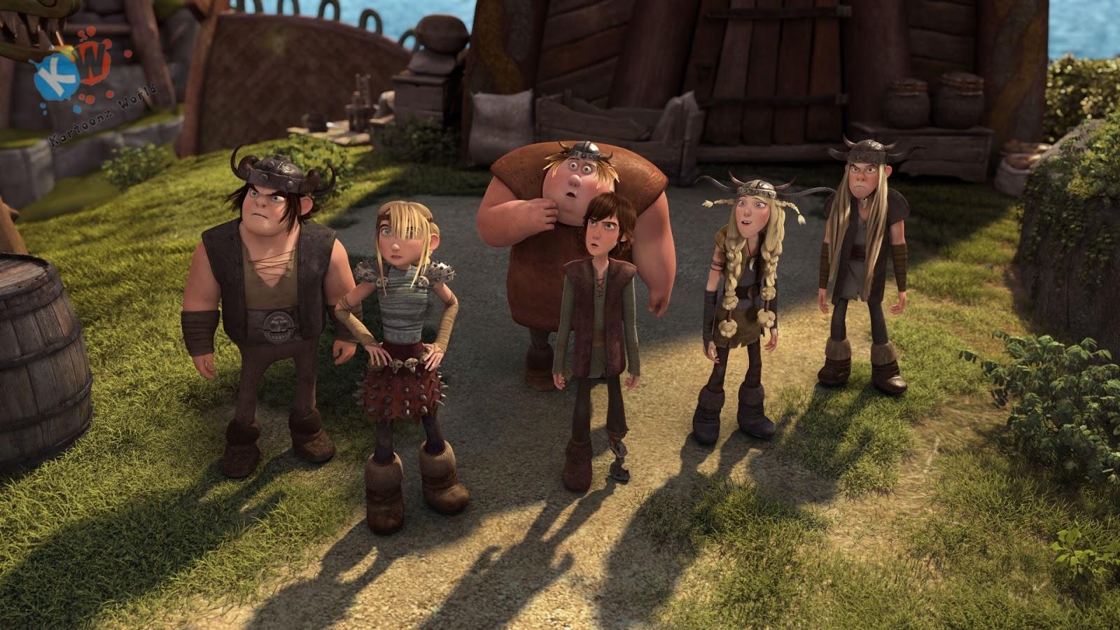 dragon riders of berk season 2 download