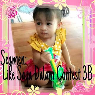 Mini GA: Like Saya Dalam Contest 3B