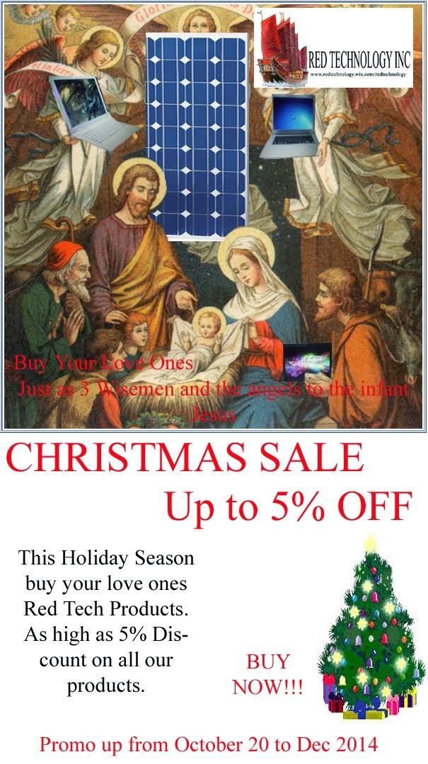 Christmas Sale 2014