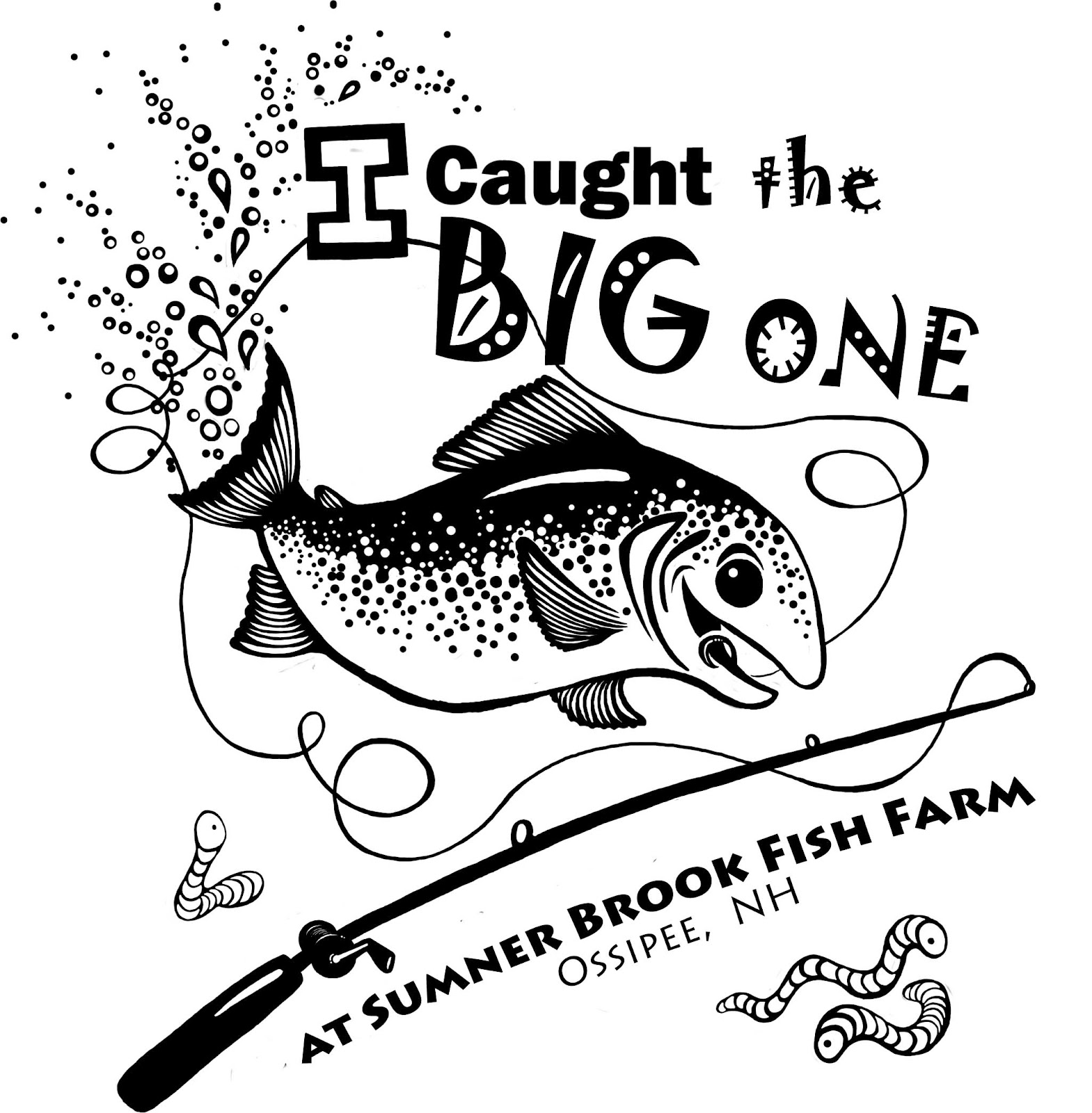 Design t shirts to sell - I Created This On Adobe Photoshop Kinda Wish I Inked The Fish By Hand With Pen And Ink And Then Scanned It Into The Computer Sometimes I Think Traditional