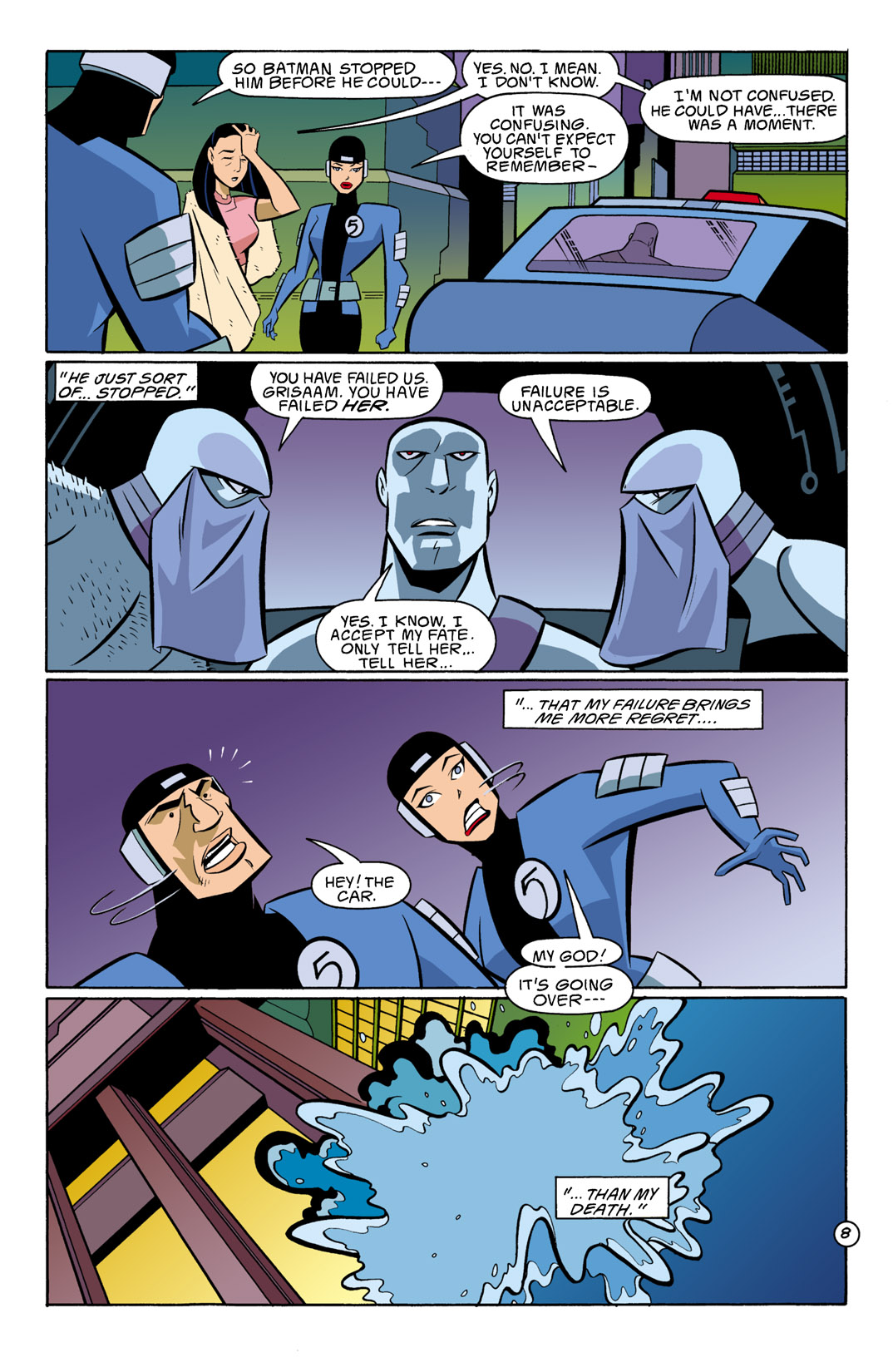 Batman Beyond [II] Issue #9 #9 - English 9