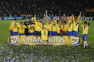 Brasil se coronó Campeón del Mundial Sub 20 Colombia 2011