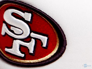San Francisco 49ers Team Logo Close Up HD Wallpaper