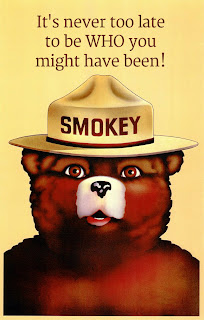 smokey the bear it s never too ...