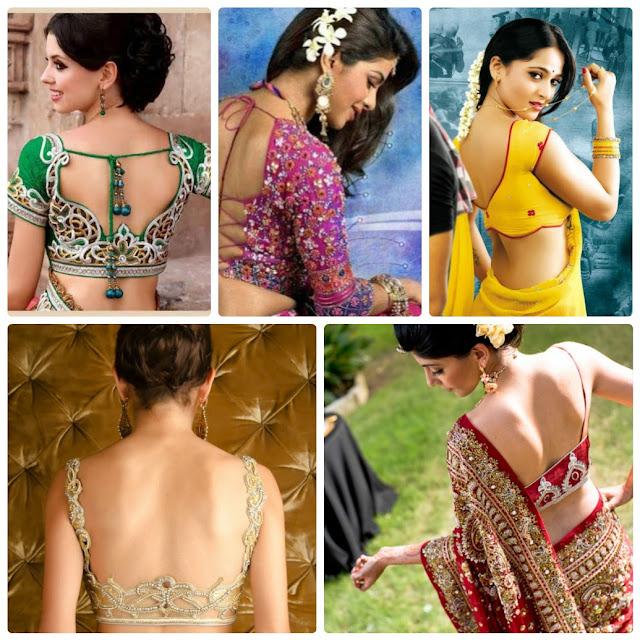Sri Lankan Blouse Patterns 118