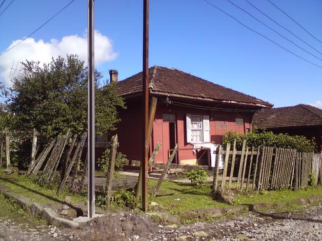 Casa típica da Vila de Paranapiacaba
