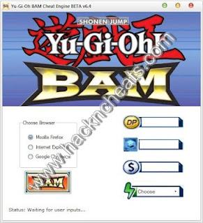 Yu-Gi-Oh BAM Cheat Engine and Hack Tool Free Download