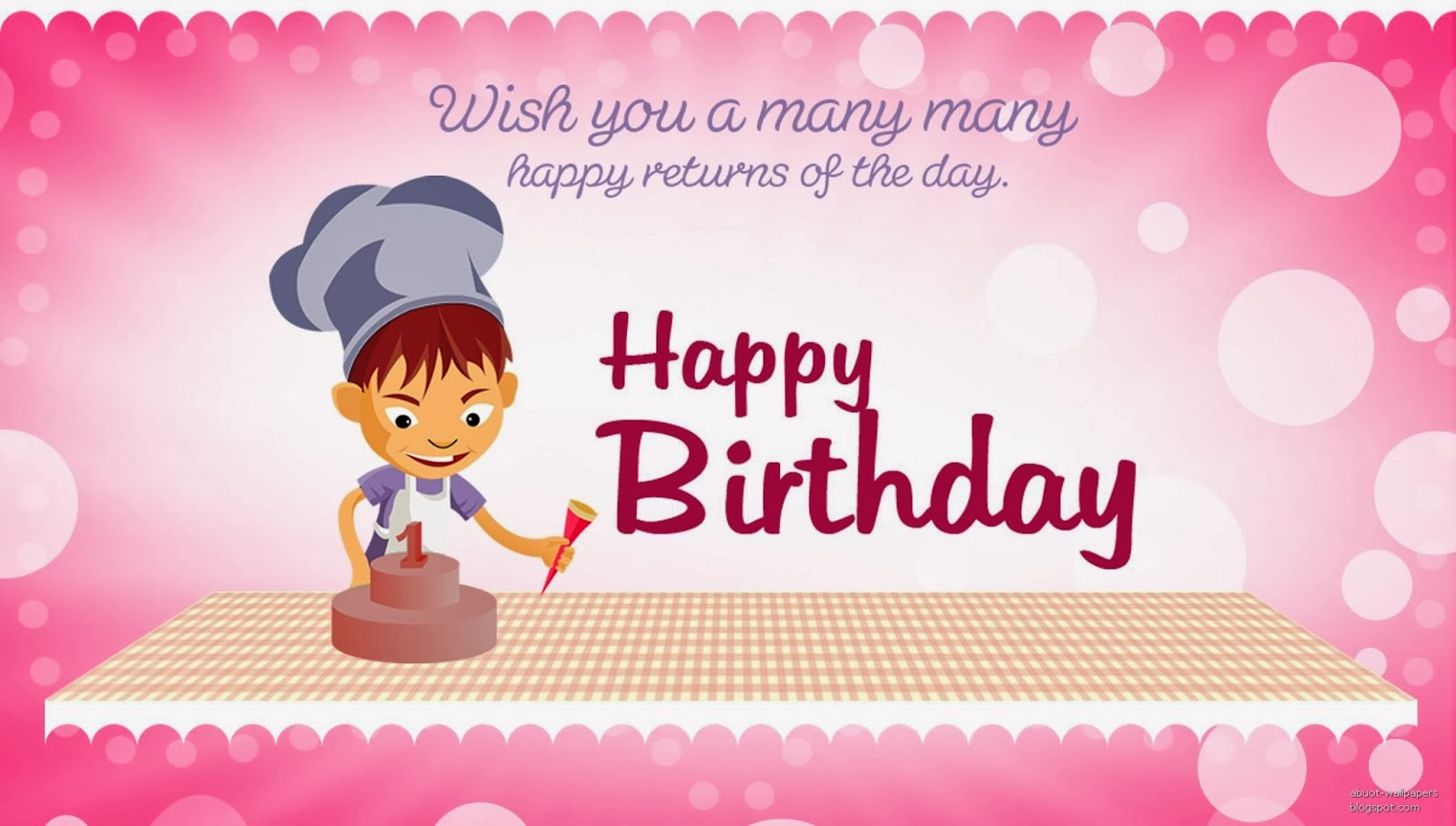 Unique Collection Of Happy Birthday Cards With Sms And Greeting