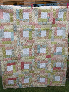 Feed Sack Quilt _ April 2011