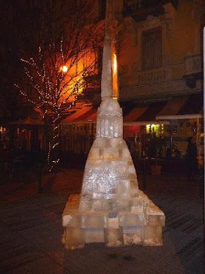 Mole Antonelliana di ghiaccio - Torino