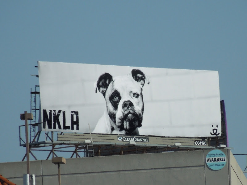 No Kill LA dog billboard