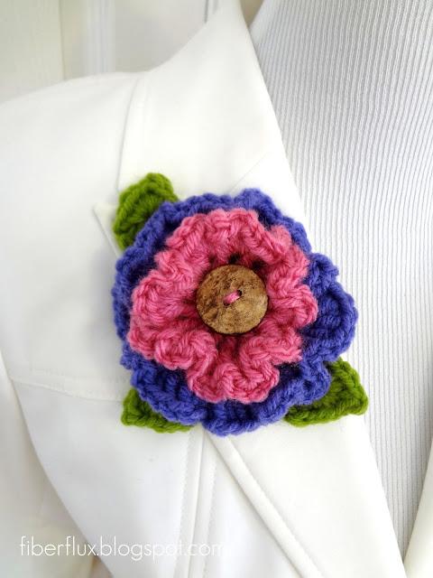 Fiber Flux Top 10 Fiber Flux Crochet Flowers