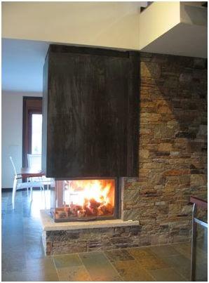 Neo arquitecturaymas chimeneas a doble cara - Tipos de chimeneas modernas ...