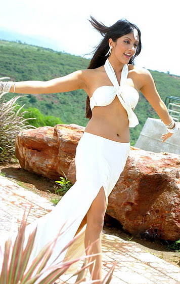 Ritika 1 - Ritika Hot Pics in white Dress