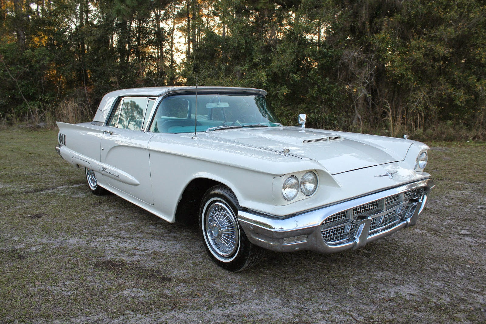 all american classic cars 1960 ford thunderbird 2 door hardtop. Cars Review. Best American Auto & Cars Review