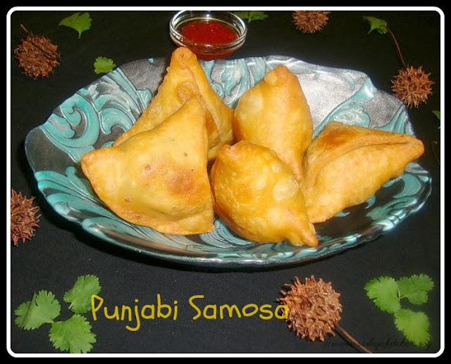 photo of Punjabi Samosa / Potato & Peas Samosa