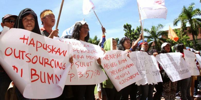 10 Tuntutan Buruh Pada May Day 2014
