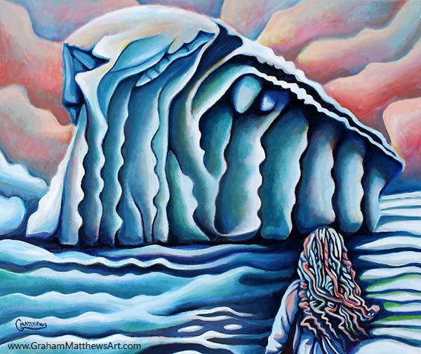 Ice Princess - Painting
