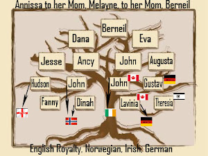 My Mom's Mom... English Royal, Norwegian, Irish & German