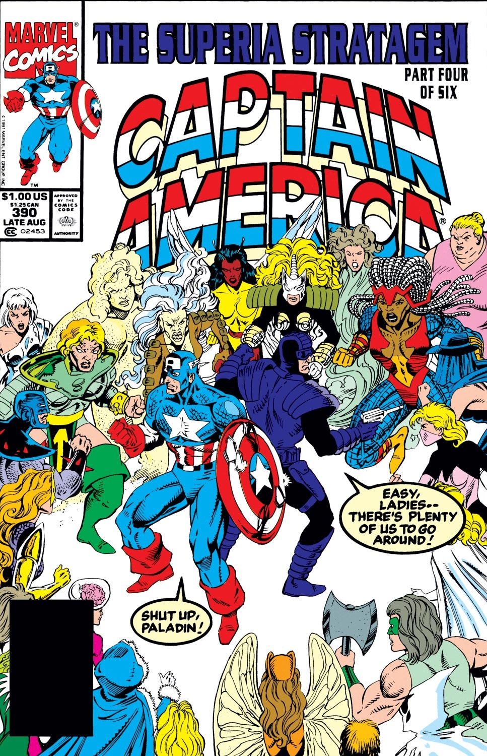 Captain America (1968) Issue #390 #323 - English 1