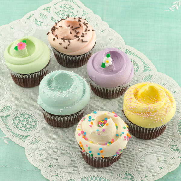 Spring cupcakes for heart