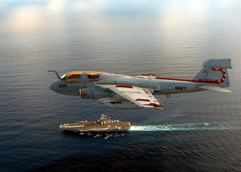 Grumman A-6 Intruder y EA-6B Prowler Prowler