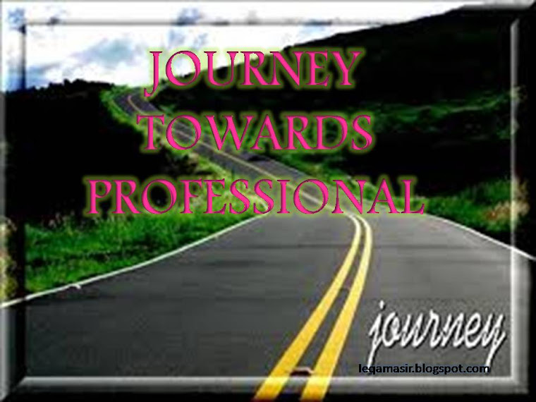 Journey Towards Professional