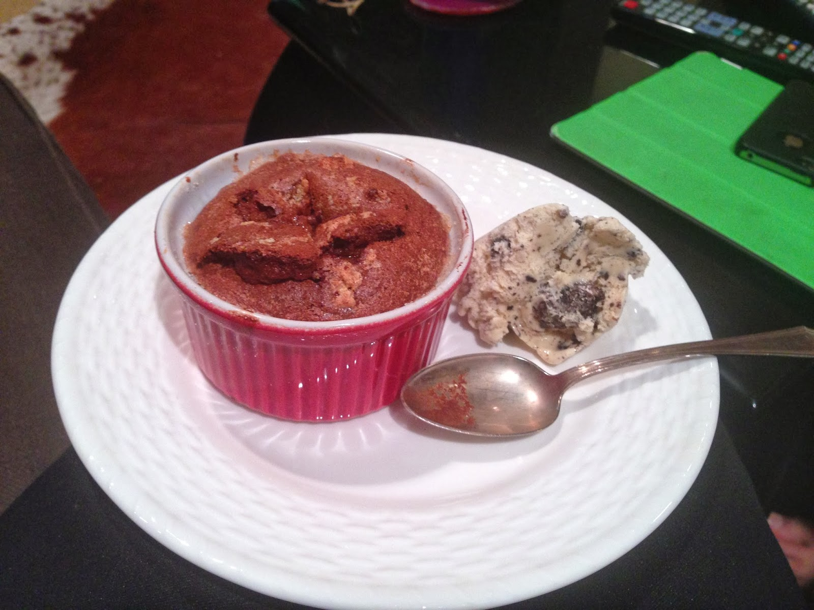 Sybil's Spoon: Make-Ahead Individual Chocolate Souffles