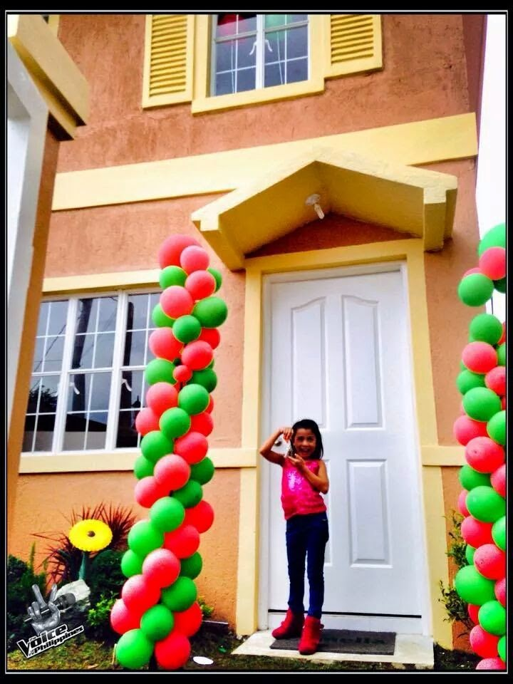 Lyca Gairanod and her new house