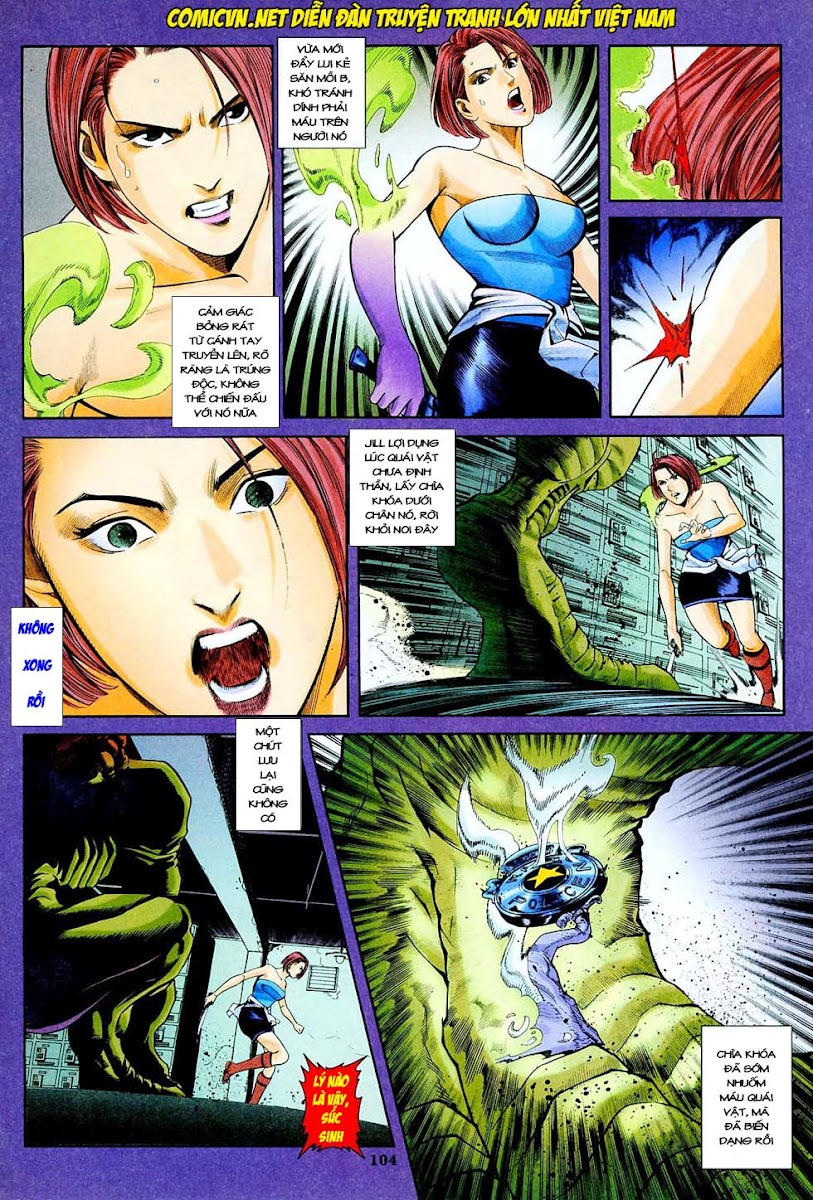 Resident Evil 3 chap 4 - Trang 25