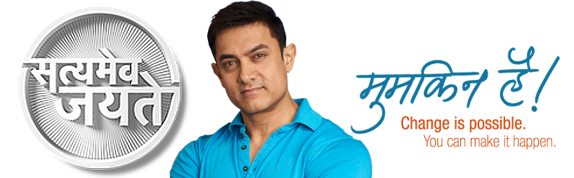 Satyamev Jayate show Airing on 8 Television channels