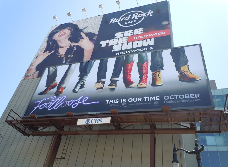 Footloose remake movie billboard