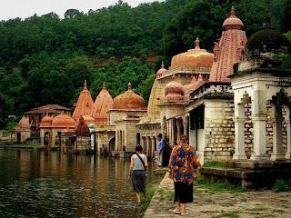 Ramsagar Lake in Ramtek