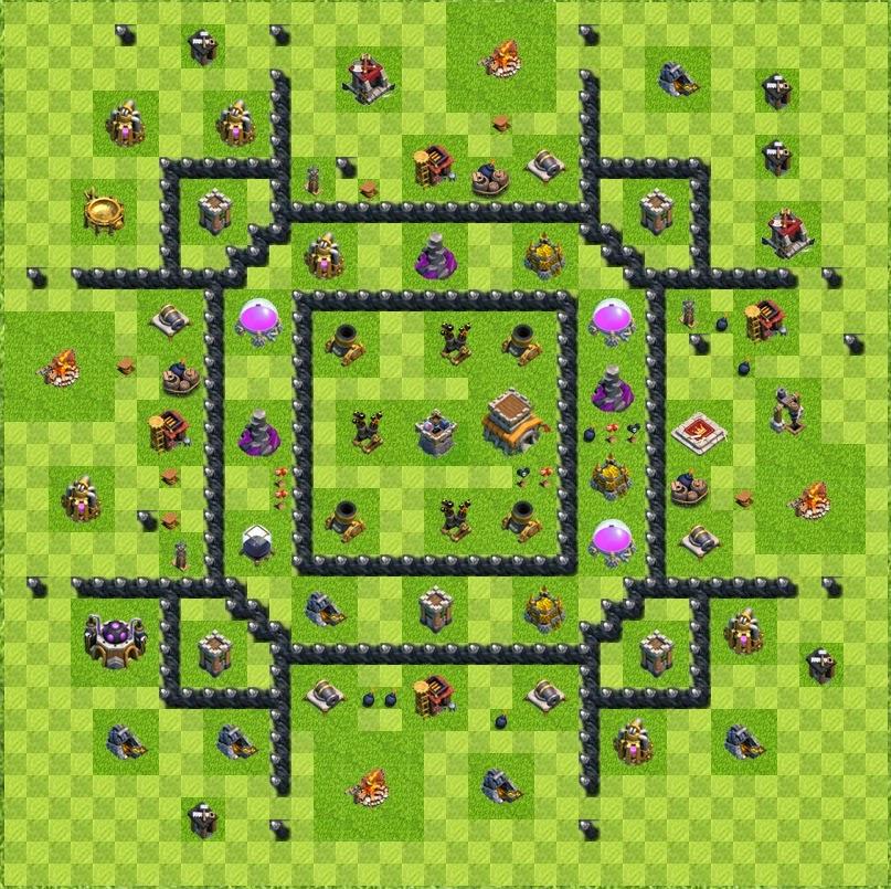 fyrerafa clash of clans layout cv 8