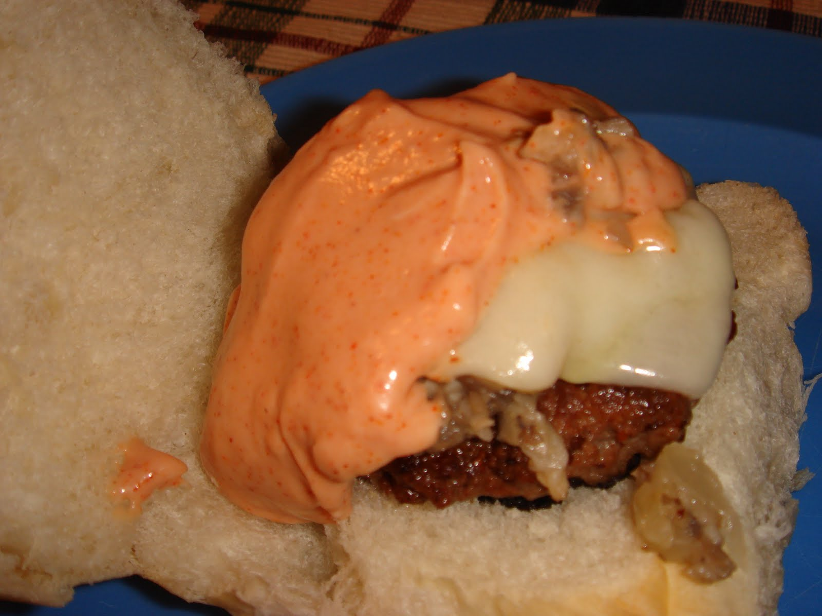 Whatcha Cookin?: Mushroom and Swiss Sliders with Spicy Fry ...