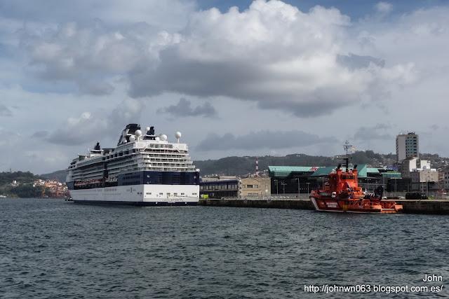 celebrity infinity, celebrity cruises, fotos de barcos, imagenes de barcos, vigo