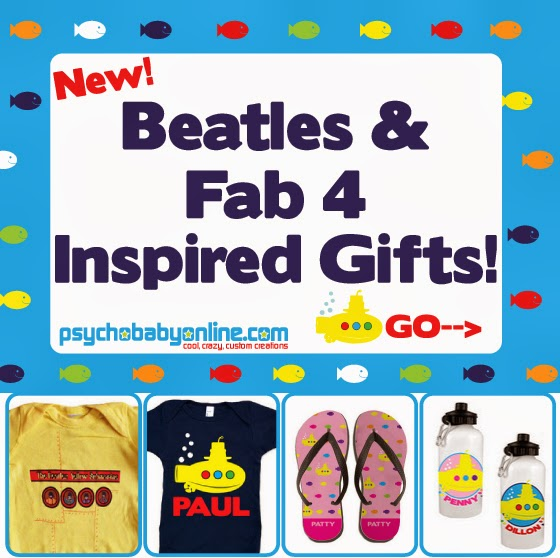 Beatles Baby and Kids Clothes and Gifts