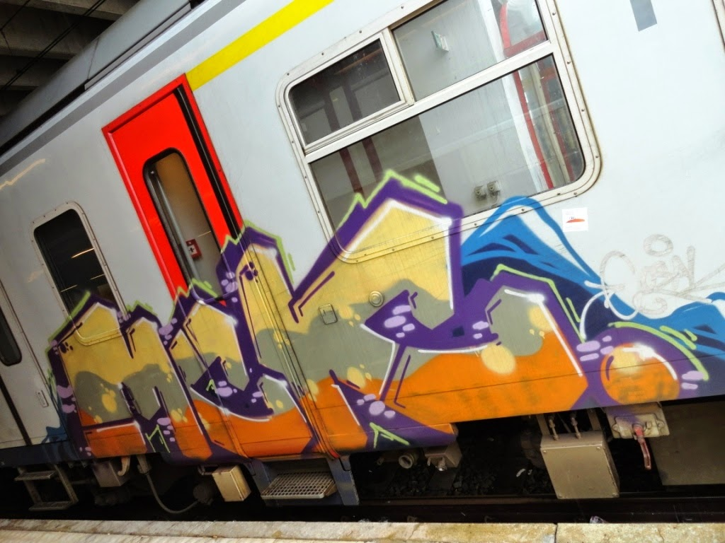 writing graffiti