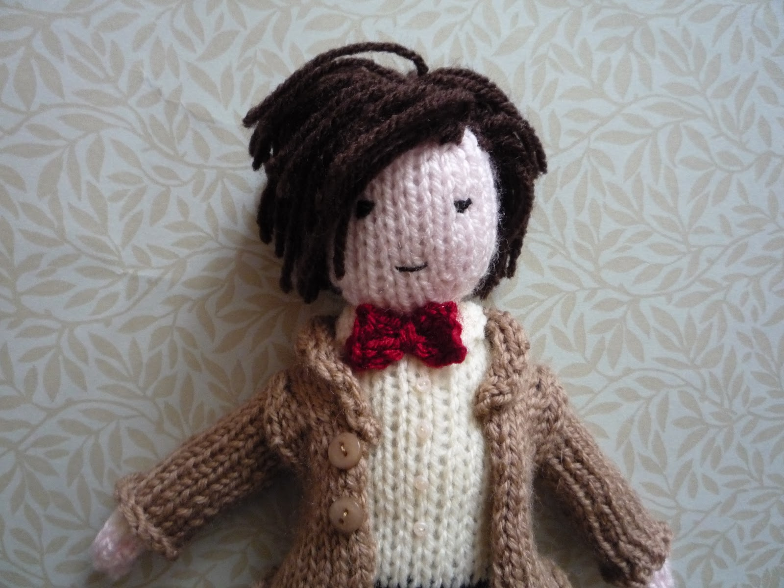 Dr Who Knitting Pattern : Knit for Victory: Dr Who doll