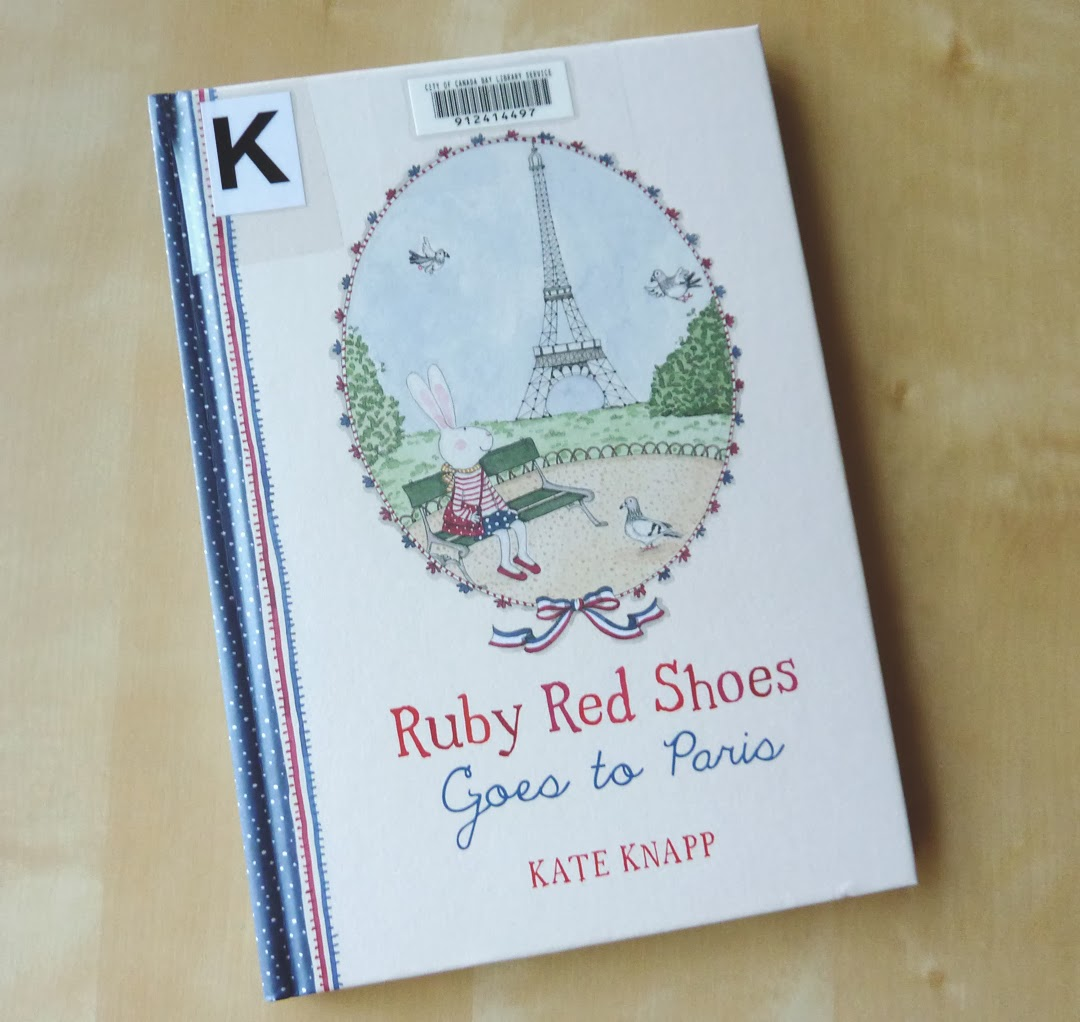 Ruby Red Shoes by Kate Knapp