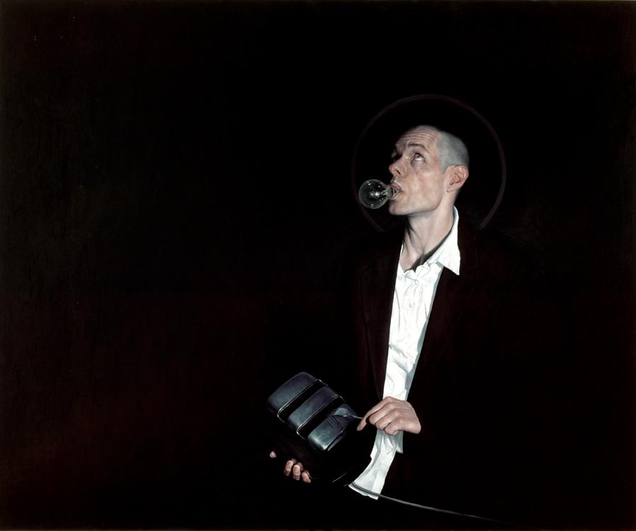 Jeremy Geddes - Doctor Ojiplático. Pintura Hiperrealista