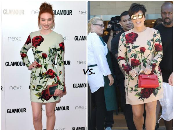 Eleanor Tomlinson vs Kris Jenner
