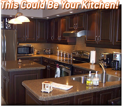 All dream home kitchen cabinet refacing for Cabinet refacing price range