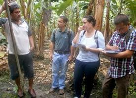 Estudiantes de la Maestría en Desarrollo Sustentable
