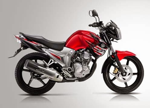 New Yamaha Scorpio Z Red