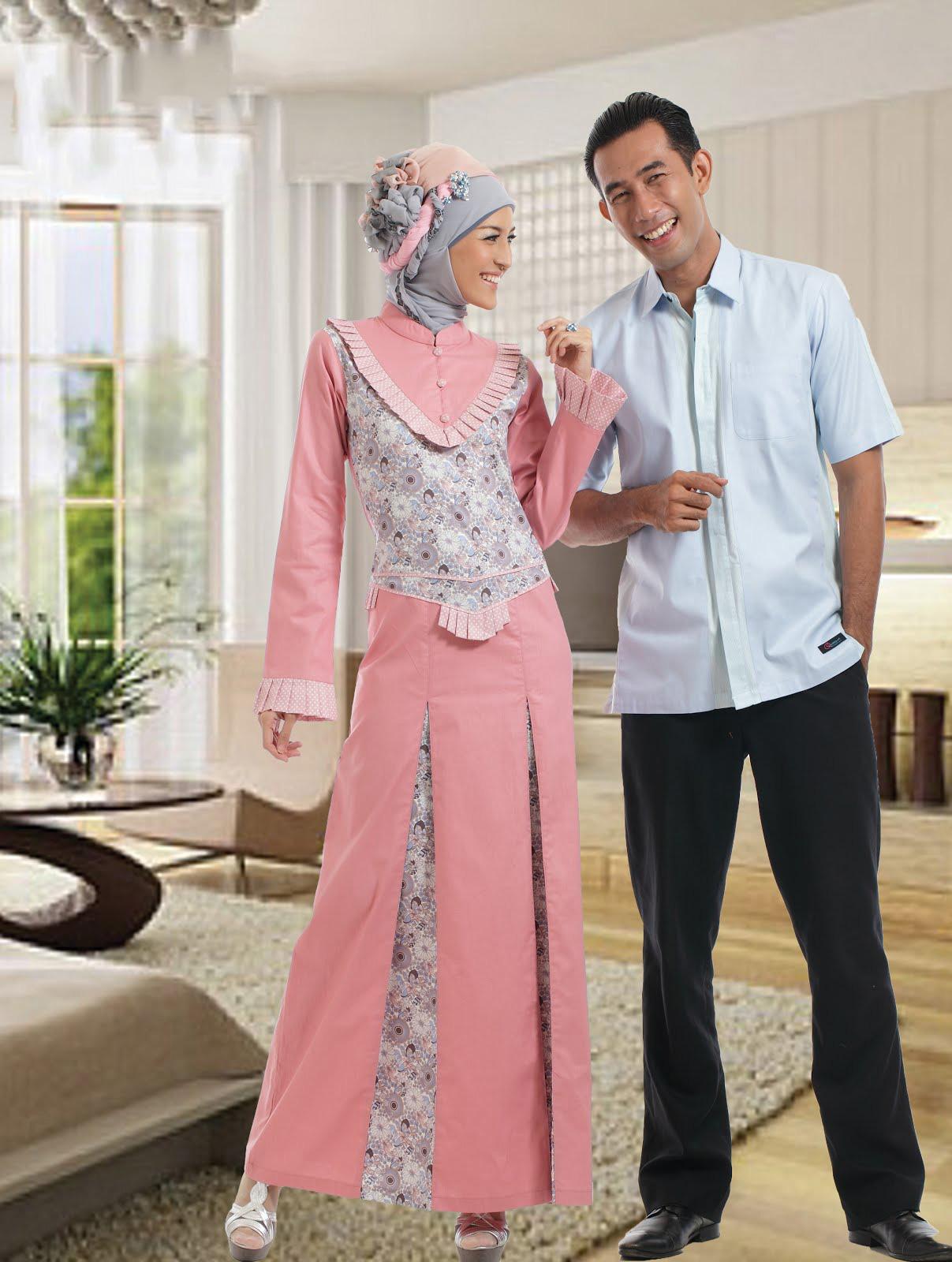 Model baju batik modern tahun ini - Model Baju Batik Kombinasi Renda Anggun Dan Elegan