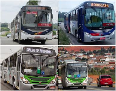 Tabela Horário de ônibus Salto de Pirapora á Sorocaba