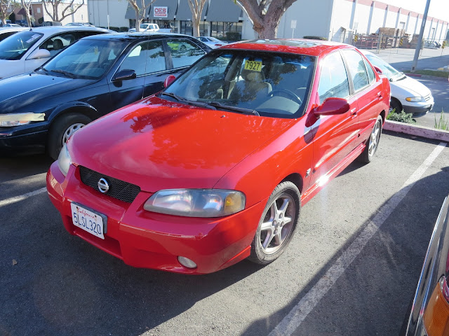 New, overall paint on Nissan Sentra SE-R from Almost Everything Auto Body