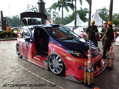 Extreme Modified Hyundai Getz