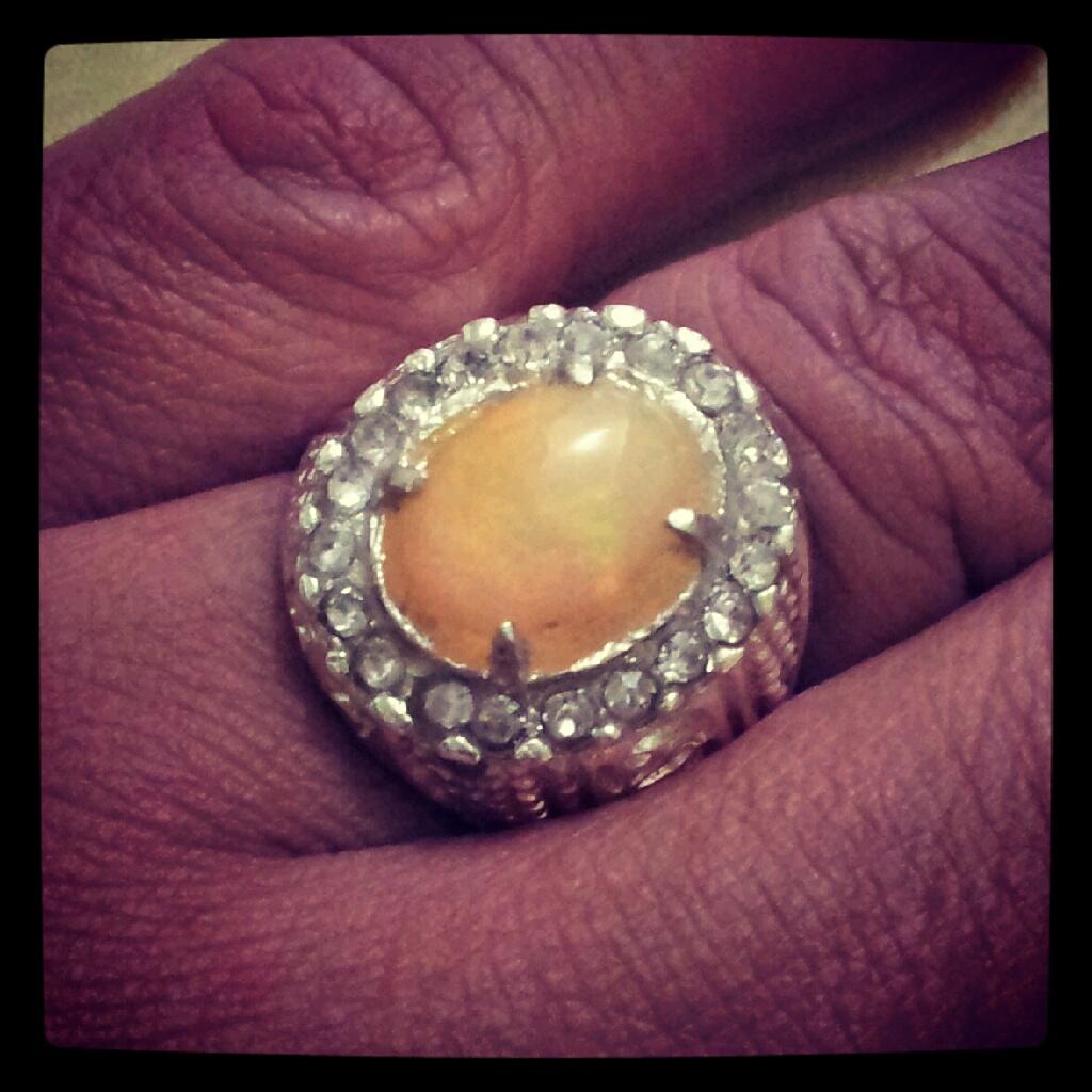 African Opal Stone (Batu Kalimaya Afrika)